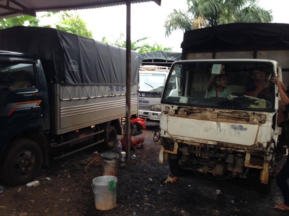 Sửa chữa xe tải đăklăk, bmt