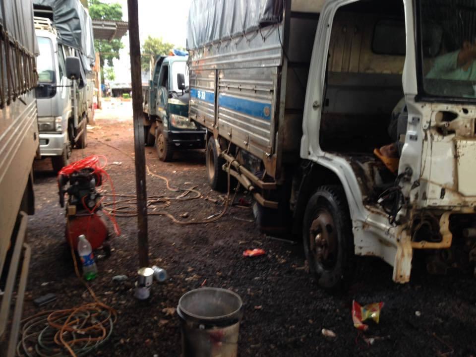 Sửa chữa xe tải đăklăk, bmt 2